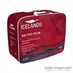 Nordico Sintético Reversible Color rojo-carmesi
