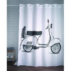 Cortina de baño mágica Moto