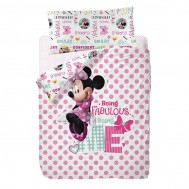 "Funda Nórdica Reversible""Minnie Fabulous"""