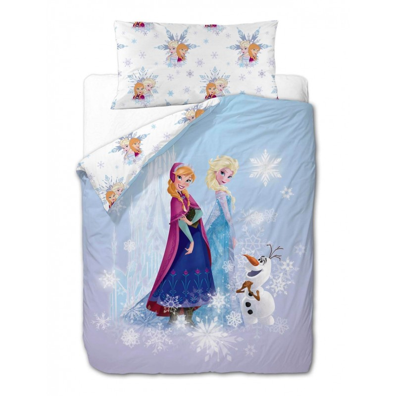 "Funda Nórdica Reversible ""Frozen Friends"""