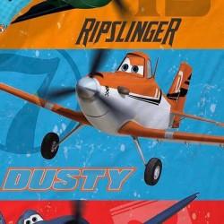 "Funda Nórdica Reversible ""Aviones Heros"""