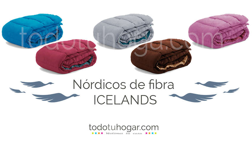 Relleno nordico Baltico color Icelands
